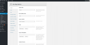 Flex Mag - Options Panel