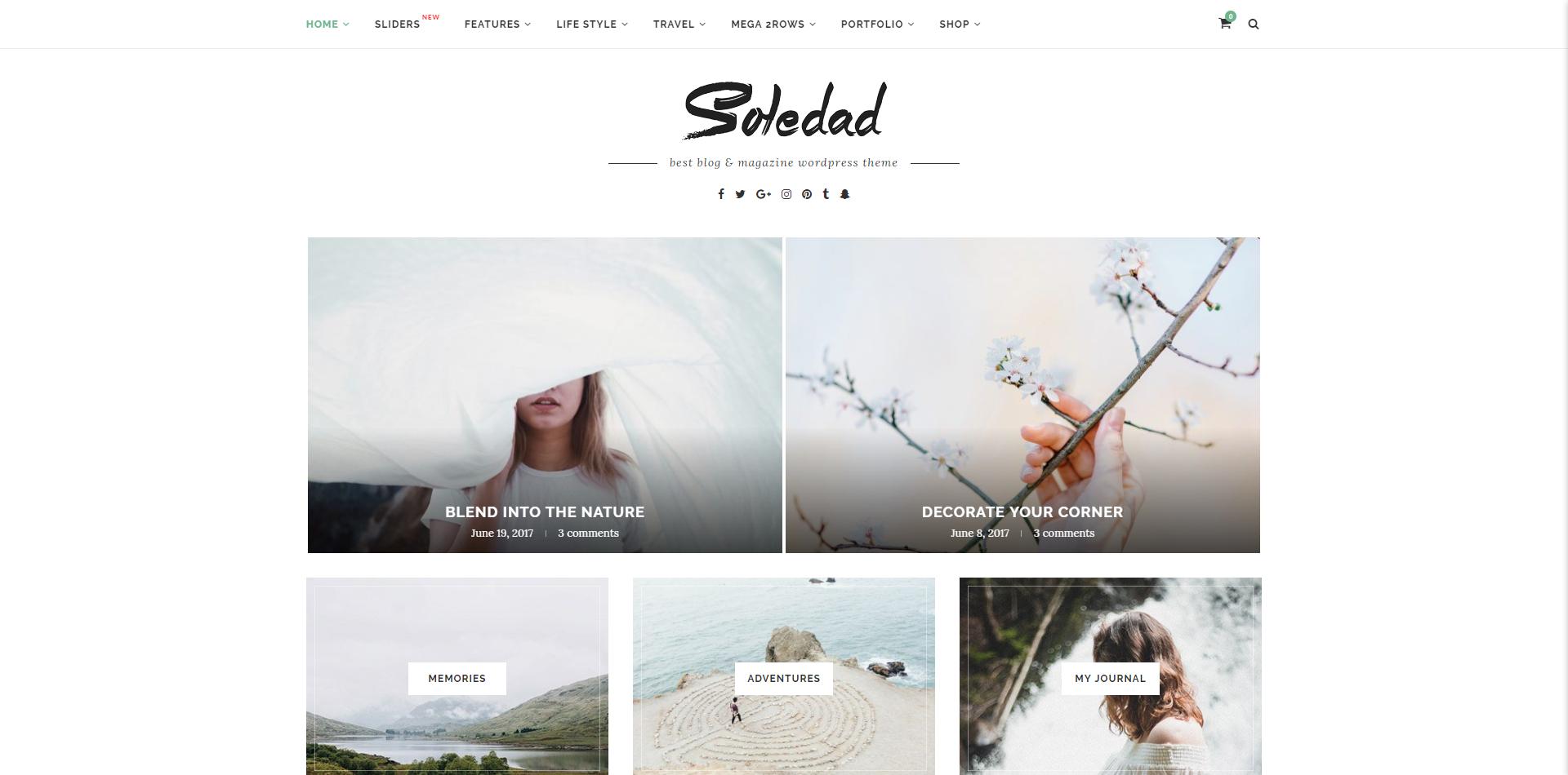Wpion Review Soledad Wordpress Theme By Penci Design