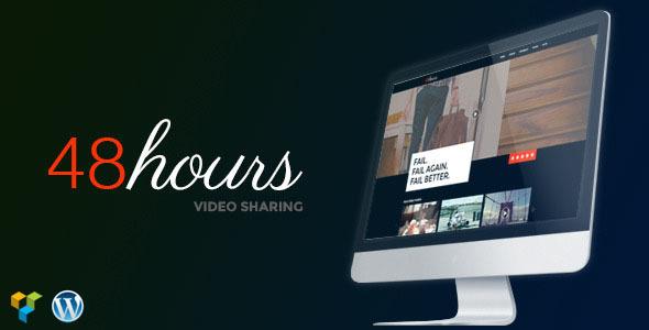 48Hours-Video-Sharing-Responsive-WordPress-Theme - WPion
