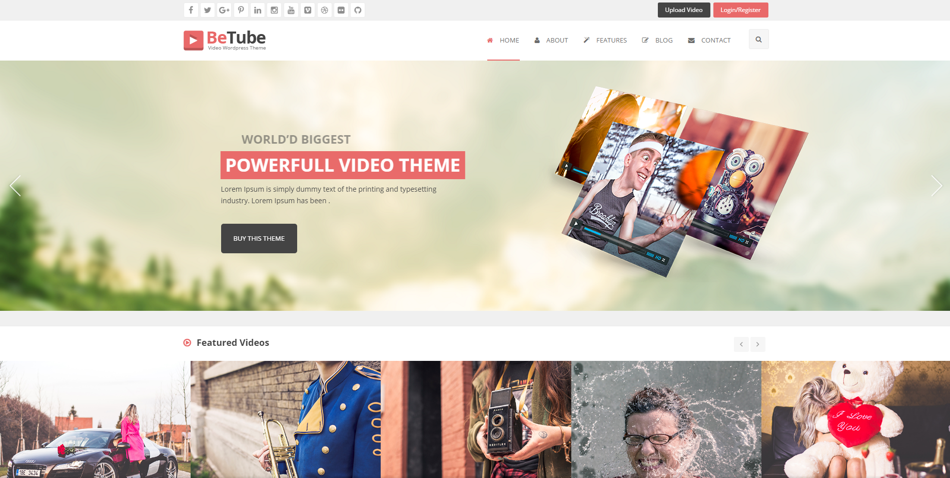 WPion Review: BeTube Blog WordPress Theme by JoinWebs