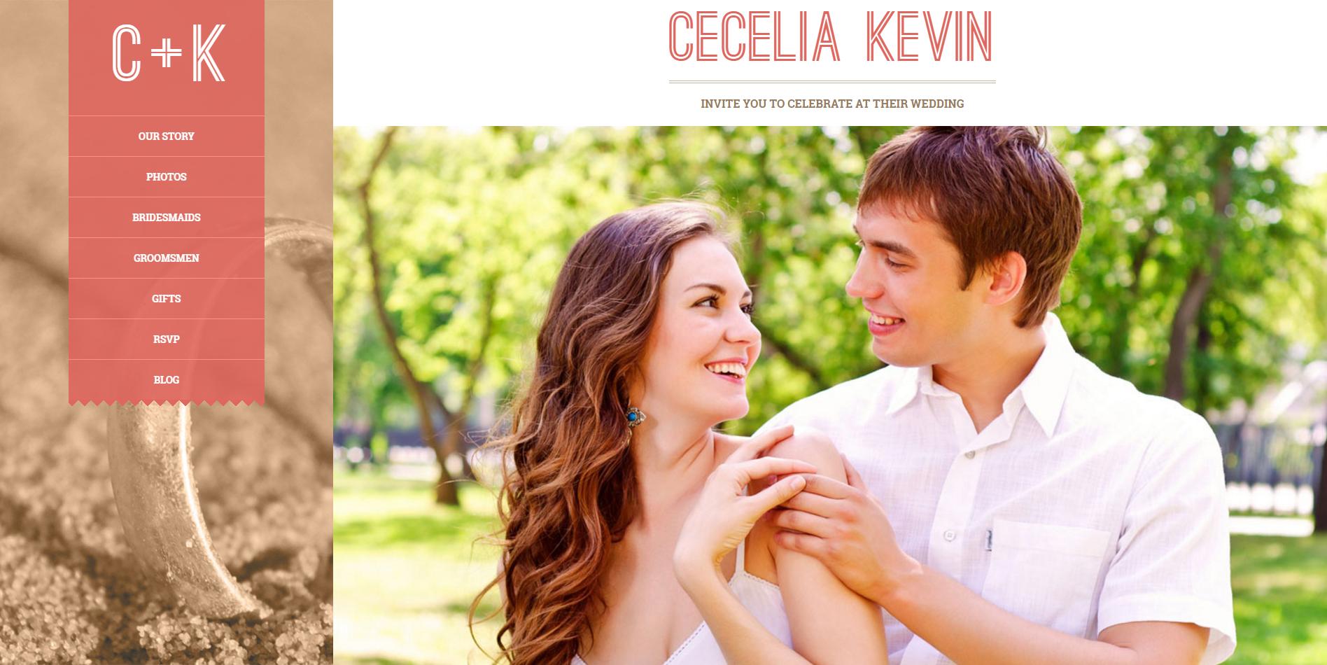 best wedding websites - 1000×815