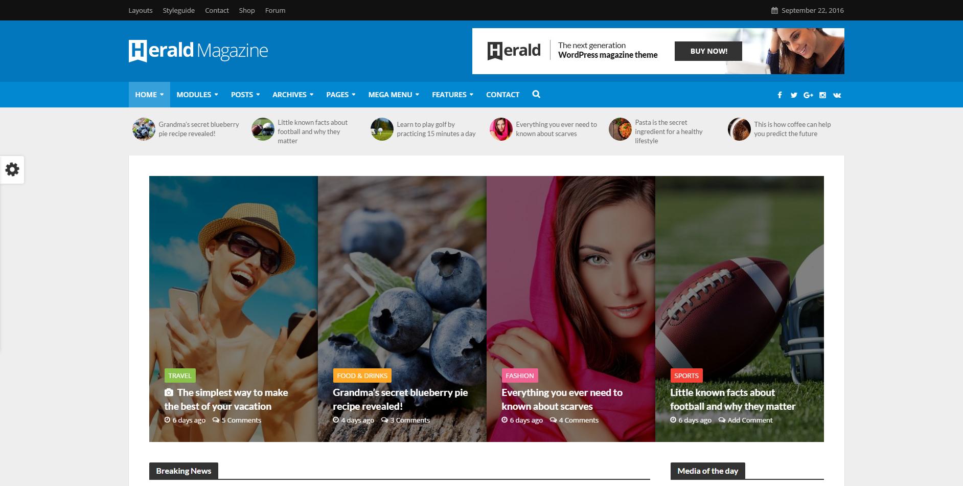 Herald Portal - WPion