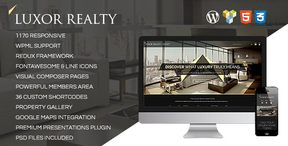 LUXOR-Responsive-WordPress-Real-Estate-Theme - WPion