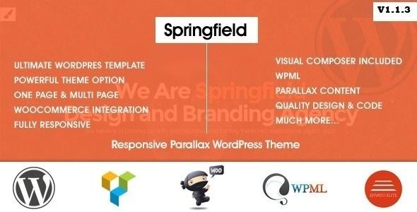 Springfield-Responsive-Parallax-WordPress-Theme - WPion