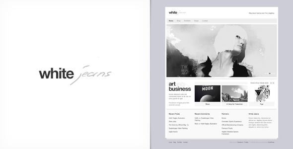White Jeans Premium Wordpress Theme Wpion