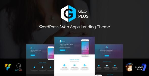 GEO-WordPress-Web-App-Landing-Page-Theme-With-Page-Builder - WPion