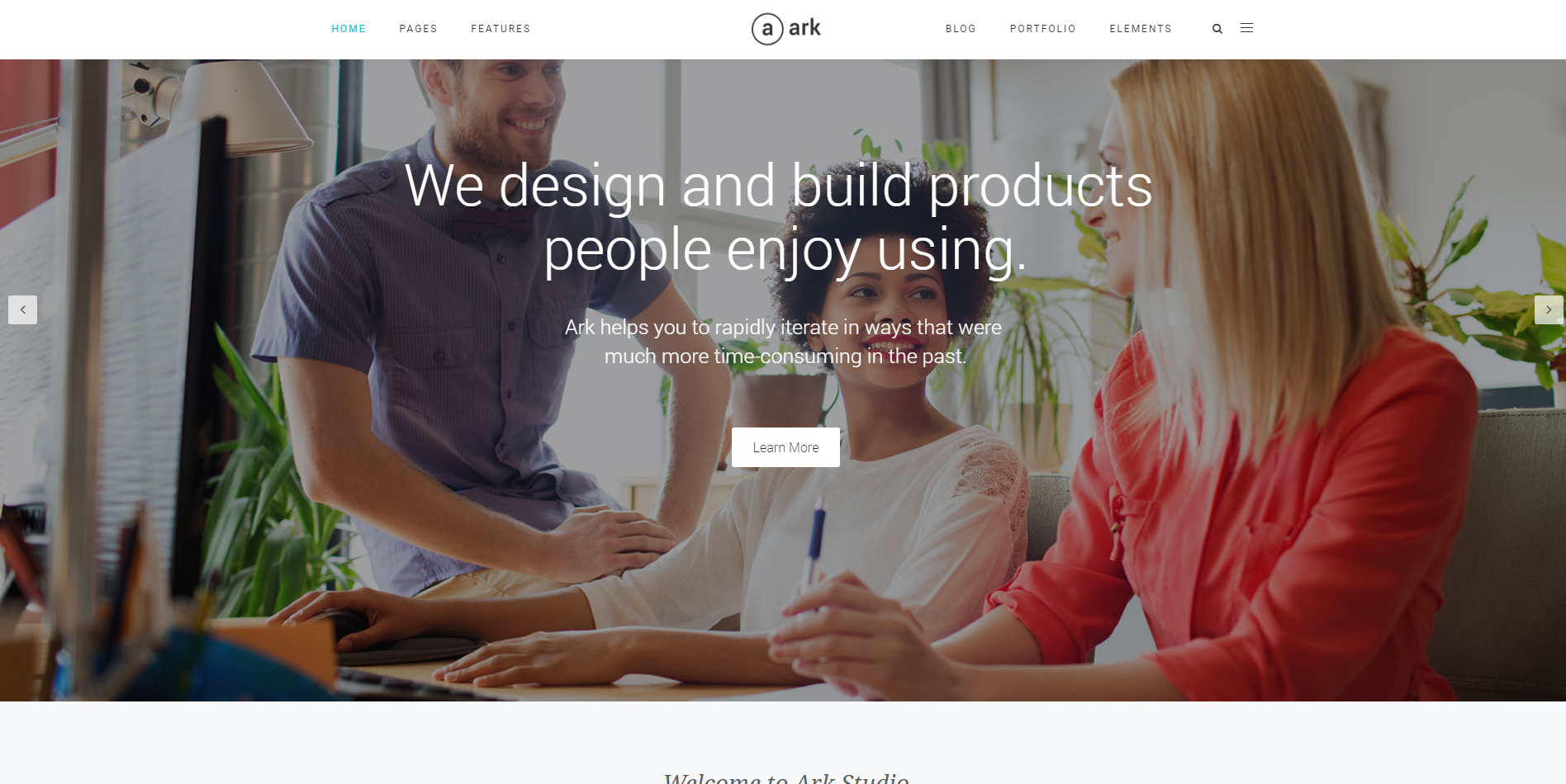 wpion review the ark multipurpose wordpress theme by freshface the ark theme