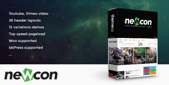 Newcon-News-Magazine-Video-WordPress-Theme - WPion