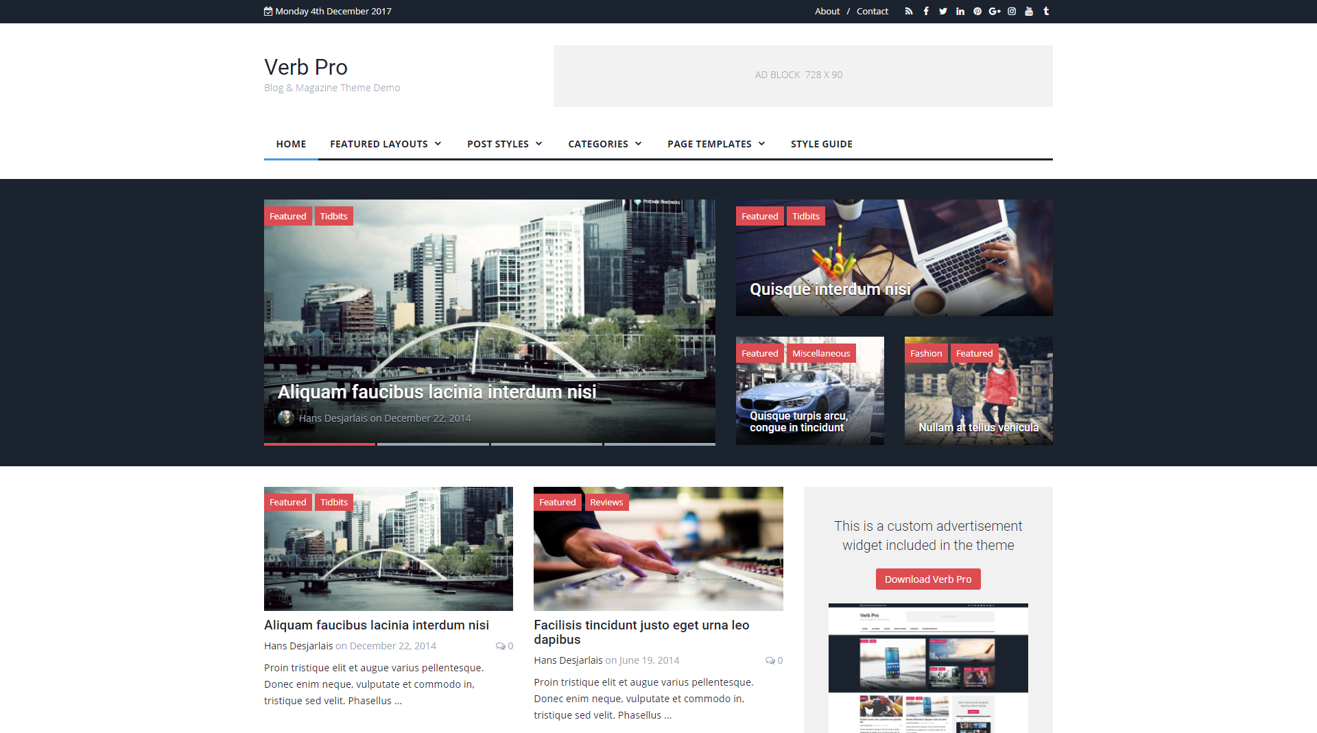 Best Beautiful And Responsive Free Themes For Wordpress