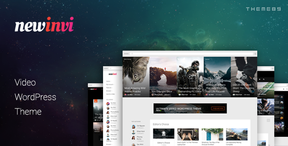 Newinvi-A-Video-Magazine-WordPress-Theme - WPion