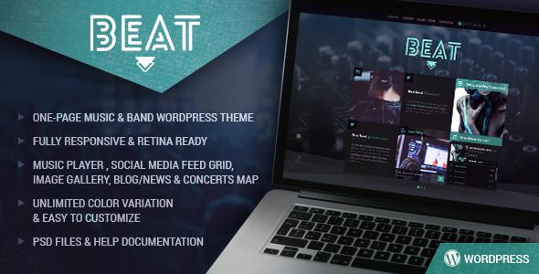 Beat-One-Page-Music-Band-AJAX-WordPress-Theme - WPion