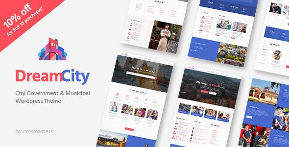 Dream-City-City-Portal-Government-Municipal-WordPress-Theme - WPion