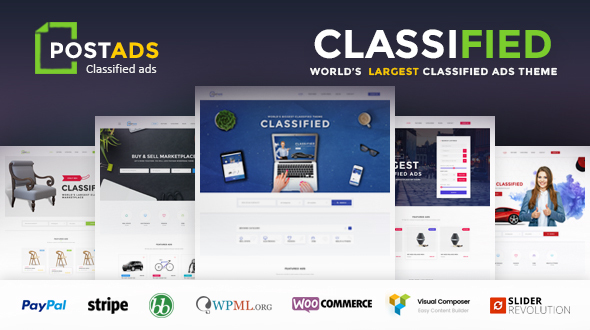 PostAds-Classified-Ads-Directory-WordPress-Theme - WPion