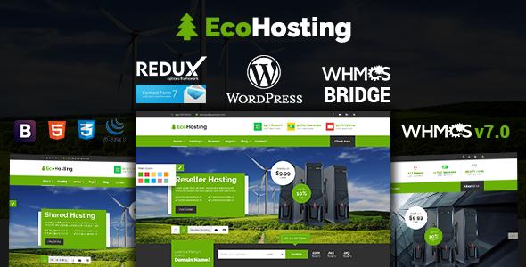 EcoHosting | Responsive Hosting and WHMCS WordPress Theme - WPion