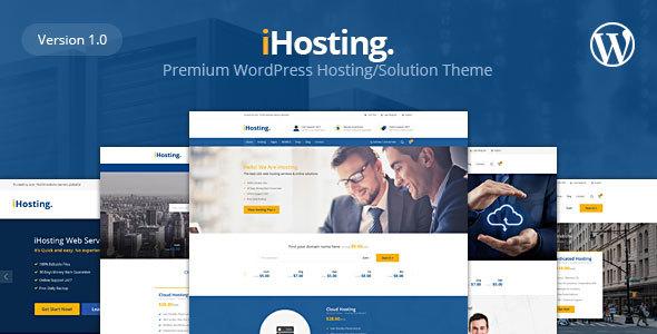 iHosting-WHMCS-Hosting-Business-WordPress-Theme - WPion