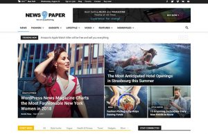 Newspaper 9 WordPress Theme