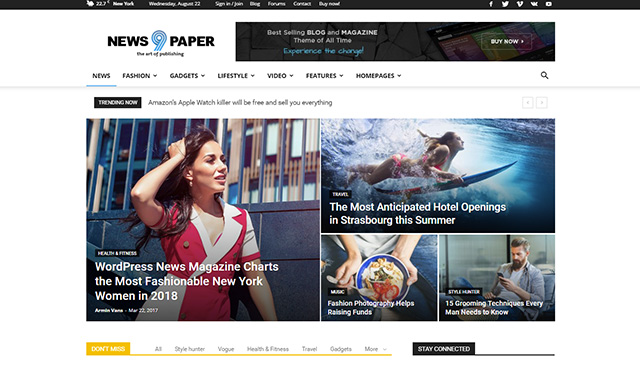 WPion Review: Newspaper WordPress Theme by TagDiv