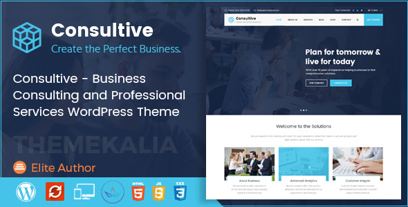 Consultive - Business Consulting and Professional Services WordPress ...