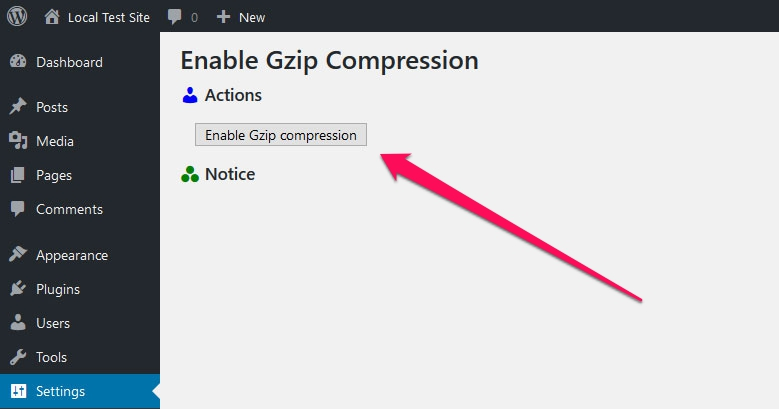 Gzip Compression to Speed Up your Site